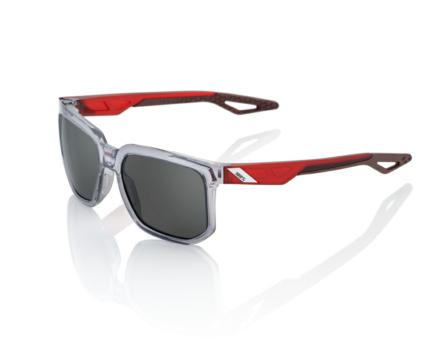 Lunettes solaires CENTRIC Polished Crystal Grey Smoke lens