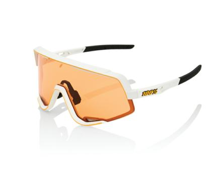 Lunettes solaires GLENDALE Soft Tact Off White Persimmon Lens