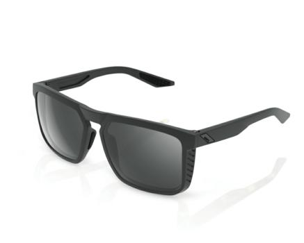 Lunettes solaires RENSHAW Soft Tact Cool Grey Black Mirror lens