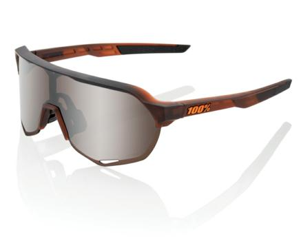 Lunettes solaires S2 Matte Translucent Brown Fade Hiper Silver Mirror