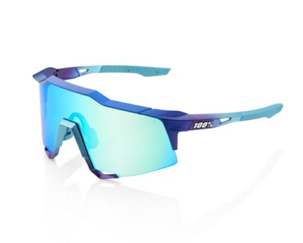 Lunettes solaires SPEEDCRAFT Matte Metallic Into the Fade Blue Topaz