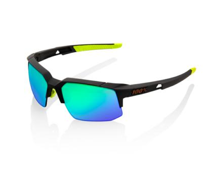 Lunettes solaires SPEEDCOUPE Soft Tact Cool Grey Green Multilayer Mir