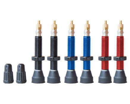 Valves tubeless alu 35mm (paire)